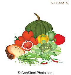 nutrition, nourritures, santé, avantages, vitamine
