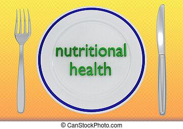 nutritional health concept