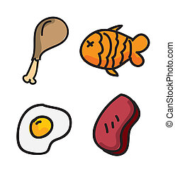 nutritional icons over white background vector illustration