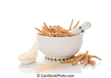 Nutritional supplement ashwagandha.