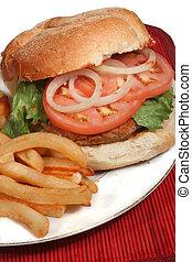 turkey burger - nutritious ground turkey burger and oven ...
