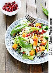 nutritious salad, food