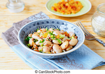 nutritious side dish with beans