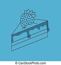 Nutritive food design, vector illustration eps10 graphic