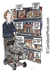 nutritivo, etichettare