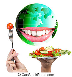 nutrizione, Vegetariano, dieta