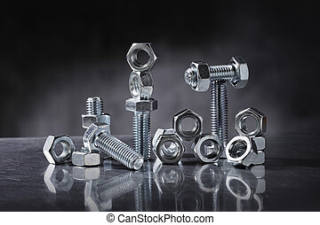 Nuts and Bolts - Still life with nuts and bolts.