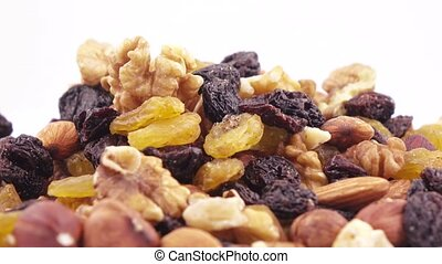 Nuts and dried fruits in bulk - Weight of nutmixture in bulk...