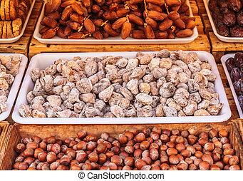 nuts in the store