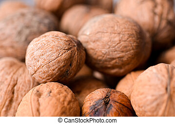 Nuts up close