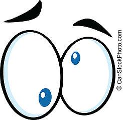 Nutty Cartoon Eyes