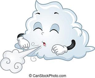 nuvem, mascote