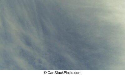 nuvens, lapso, céu, tempo