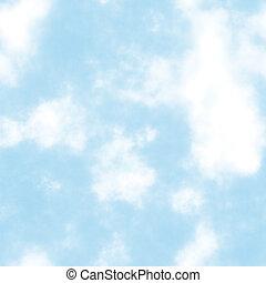 nuvens, seamless