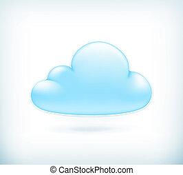 nuvola, vettore