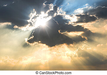 nuvole scure