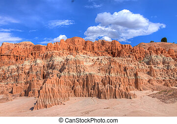 NV-Cathedral Gorge State Park - Hiking through this paradise...