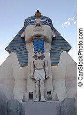 nv., vegas, sphinx-, las