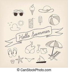 nyár, állhatatos