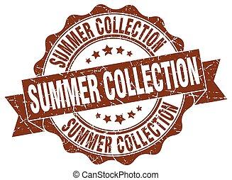 nyár, cégtábla., stamp., gyűjtés, fóka