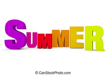 nyár, gépel