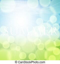 nyár, háttér