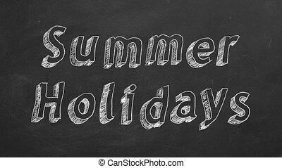 nyár holidays