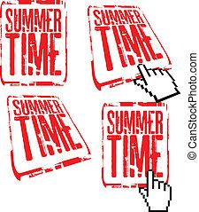 nyár időmérés