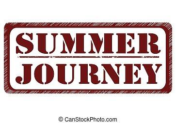 nyár, utazás