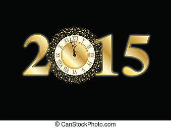 ny år eve, stueur