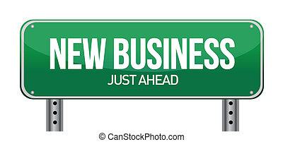 ny affärsverksamhet, underteckna