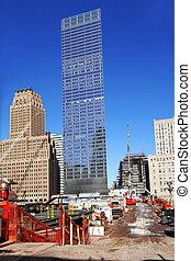 NY - ground zero, january 2009