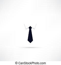 nyakkendő, ikon