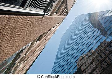 nyc, épületek