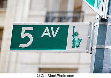 NYC, 大道, 第五