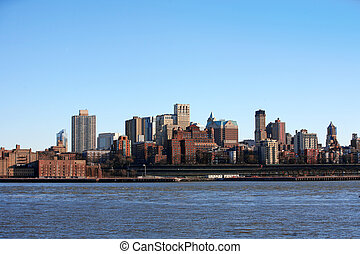 NYC - Bronx, view from Manhattan, USA