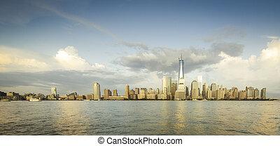 nyc, panorama