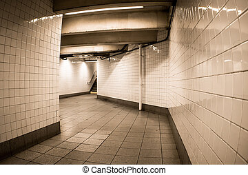 NYC Subway Tunnel