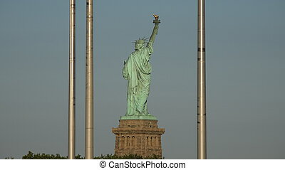 nyc, szobor szabadság