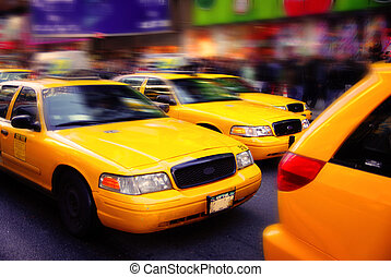 nyc, taxizik