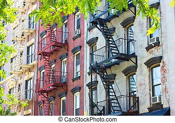 nyc, vivienda, apartamentos