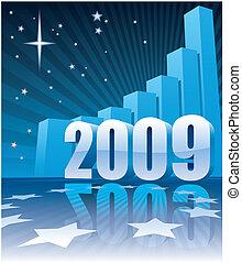 nye, 2009, held, år