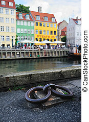 nyhavn, danemark, copenhague