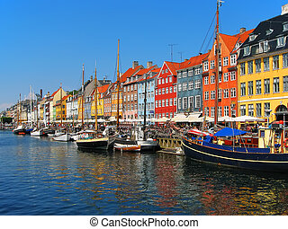 nyhavn, koppenhága