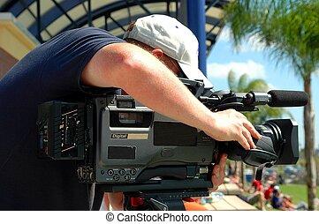 nyhed, cameraman
