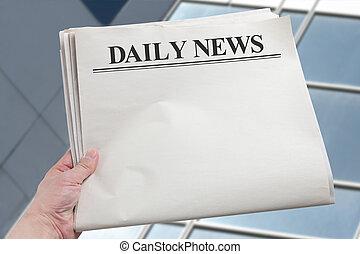 nyhed, daglige