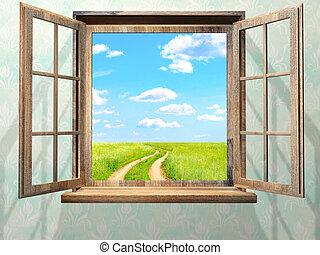 nyit ablak