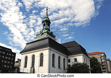 Nykirken, New Church in Bergen, Norway
