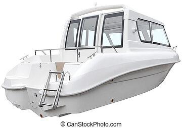 nymodig, boat., stuga