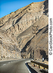 nymodig, motorväg, in, iranier, område